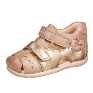 Dětská obuv GEOX B Kaytan  /beige/pink - Boty a dětská obuv
