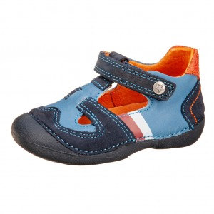 Dětská obuv D.D.Step  015-172B   Royal Blue  *BF -  Celoroční