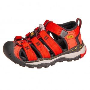 Dětská obuv KEEN Newport Neo H2 /fiery red/golden rod -  Sandály