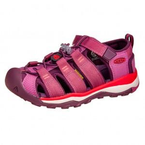 Dětská obuv KEEN Newport Neo H2 /red violet/grape wine -  Sandály