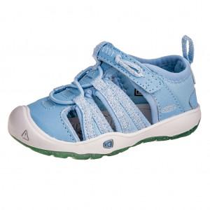 Dětská obuv KEEN Moxie sandal   powder blue/vapor -  Sandály