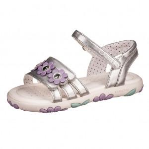 Dětská obuv GEOX J S.Hahity G.  /silver - Boty a dětská obuv