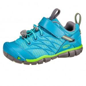 Dětská obuv KEEN Chandler   /tahitian tide/bright green -  Sportovní