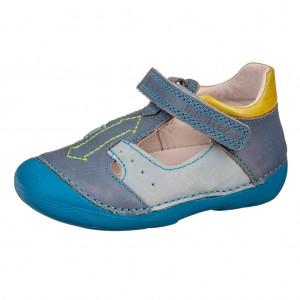 Dětská obuv D.D.Step  015-175A   Sky Blue  *BF -  Celoroční
