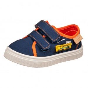 Dětská obuv D.D.Step plátěnky royal blue - Boty a dětská obuv