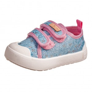 Dětská obuv D.D.Step plátěnky sky blue - Boty a dětská obuv
