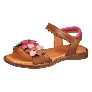 Dětská obuv Froddo sandály Brown - Boty a dětská obuv