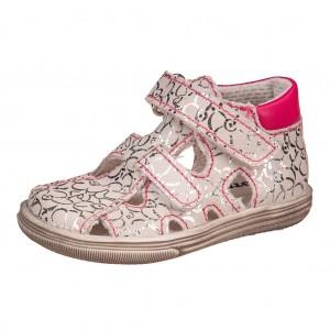 Dětská obuv Boots4U sandály silver rose  *BF -  První krůčky