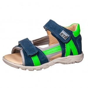Dětská obuv Sandály KTR BA 119/S04  /modrá - Boty a dětská obuv