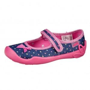 Dětská obuv Domácí obuv Befado modrá - Boty a dětská obuv