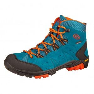 Dětská obuv Brütting Mount Bona High   /petrol -  Do hor nebo nížin