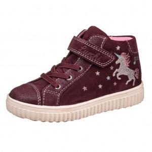 Dětská obuv Lurchi Yuna-tex  /burgundy - Boty a dětská obuv
