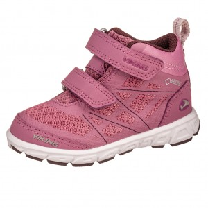 Dětská obuv VIKING VEME MID GTX   dark pink/violet -  Sportovní