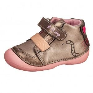 Dětská obuv D.D.Step  015-185E  Champagne  *BF -  První krůčky