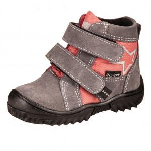 Dětská obuv Boots4U  JAS-TEX šedá-rose -  Celoroční