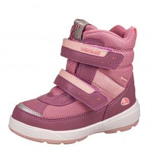 Dětská obuv VIKING Play II R GTX   /dark pink/light pink - Boty a dětská obuv
