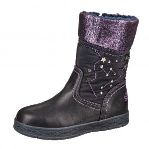 Dětská obuv s'Oliver kozačky 36604  /blue comb - Boty a dětská obuv