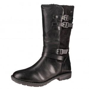 Dětská obuv s'Oliver kozačky 46606  /black - Boty a dětská obuv