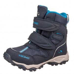 Dětská obuv VIKING Bluster II GTX   /navy - Boty a dětská obuv