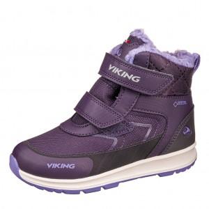 Dětská obuv VIKING ELLA GTX   /aubergine/purple - Boty a dětská obuv