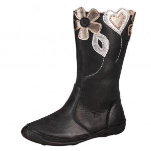 Dětská obuv D.D.Step  046-614L   black - Boty a dětská obuv
