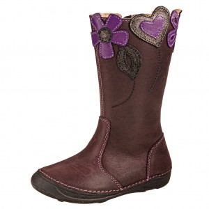 Dětská obuv D.D.Step  046-614AM   Violet -  Zimní