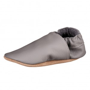 Dětská obuv Capáčky - BaBice Šedé *BF -  Na doma a do škol(k)y