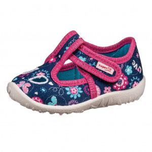 Dětská obuv Domácí obuv Superfit 6-09248-81  WMS MIII -  Na doma a do škol(k)y