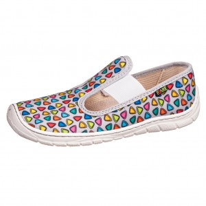 Dětská obuv FARE BARE 5101401 *BF -  Na doma a do škol(k)y