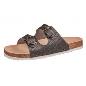 Dětská obuv Santé D/21/61 Pantofle černé - Boty a dětská obuv