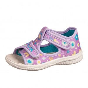 Dětská obuv Domácí sandálky Superfit 6-00293-90 -  První krůčky