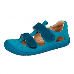 Dětská obuv Filii barefoot Kaiman /turq. blue -  Celoroční