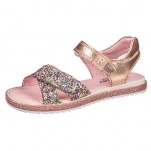 Dětská obuv Richter 5306  /gold/salmon - Boty a dětská obuv