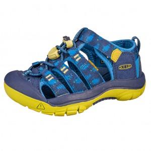 Dětská obuv KEEN Newport H2 /blue depths/chartreuse - X...SLEVY  SLEVY  SLEVY...X