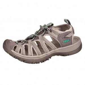 Dětská obuv KEEN Whisper   medium grey/peacock green -