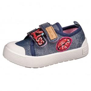 Dětská obuv D.D.Step plátěnky CSG-141  /royal blue -  Sportovní