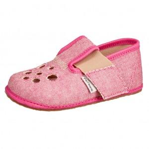 Dětská obuv Domácí obuv Pegres BF03 růžová *BF - Boty a dětská obuv