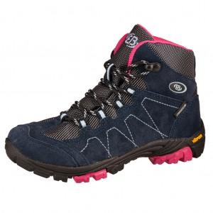 Dětská obuv Brütting Bergen High   /marine/pink/blau - Boty a dětská obuv