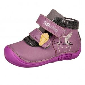 Dětská obuv D.D.Step  018-599  Lavender *BF -  První krůčky