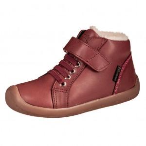 Dětská obuv Bundgaard Walker Mid Lace /plum WS - Boty a dětská obuv