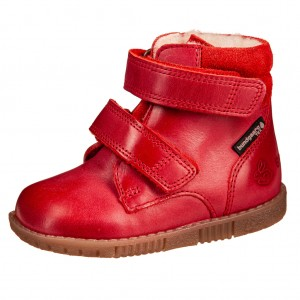 Dětská obuv Bundgaard Rabbit velcro /red WS - barefoot...