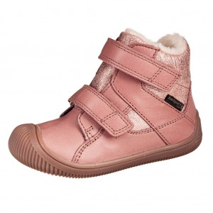Dětská obuv Bundgaard Walk velcro TEX /nostalgia rose WS - barefoot...