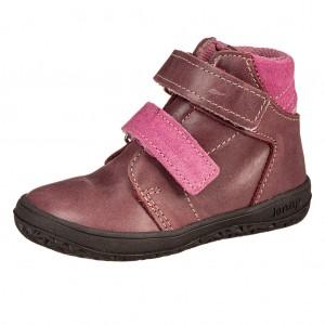Dětská obuv Jonap B2MV vínové *BF - barefoot...