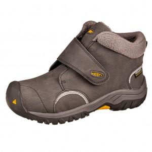 Dětská obuv KEEN Kootenay III WP  /black/keen yellow - Zimní