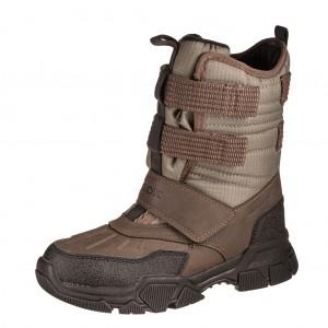 Dětská obuv GEOX J Nevegal B  /military - Boty a dětská obuv