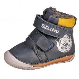 Dětská obuv D.D.Step 070-518  Royal Blue -  První krůčky