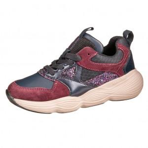 Dětská obuv GEOX J Bubblex G   /navy/prune - Boty a dětská obuv