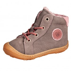 Dětská obuv Ricosta GEORGIE /graphit/blush  WMS W *BF - Boty a dětská obuv