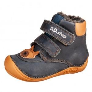 Dětská obuv D.D.Step 018-814 Royal Blue BF -  První krůčky