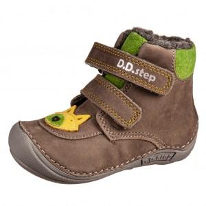 Dětská obuv D.D.Step 018-814 Grey BF -  První krůčky